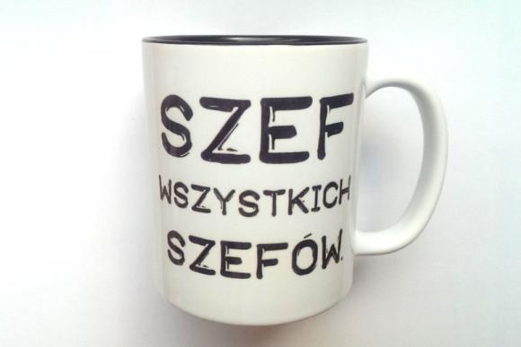 KUBEK SZEFA WSZYSTKICH...