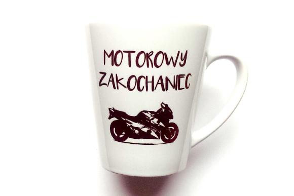 Kubek Latte MOTOROWY ZAKOCHANIEC