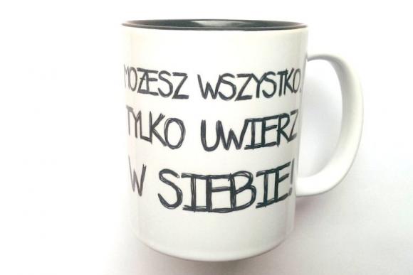 Kubek MOŻESZ WSZYSTKO z...