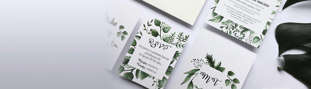 Zaproszenia na Ślub